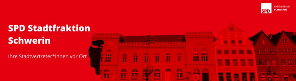 Banner StadtvertreterInnen Schwerin