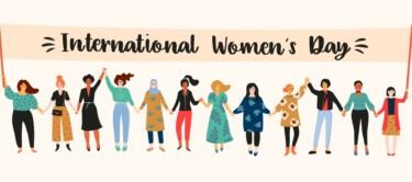 Banner Frauentag