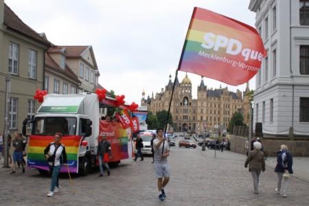 Christopher Street Day in Schwerin