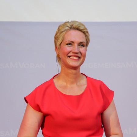 Manuela Schwesig Landesvertreterversammlung zur LTW