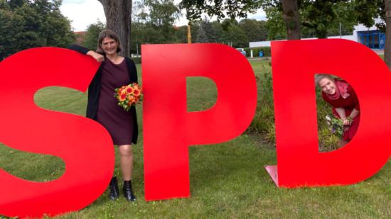 Manuela Schwesig Mandy Pfeifer Landtag MV