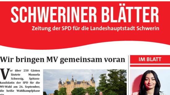 Schweriner Blätter Ausgabe September 2021