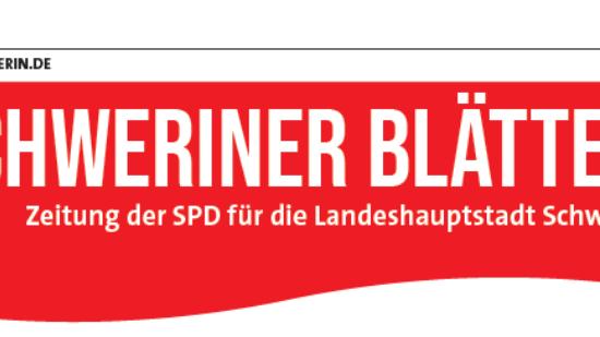 Schweriner Blätter Ausgabe August 2021