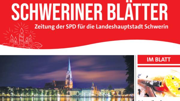 Schweriner Blätter, Ausgabe Dezember 2020