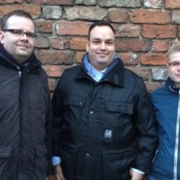 Der Vorstand: Norbert Reinsch, Daniel Alff, Kevin Fahrenwald (v.l.n.r.)