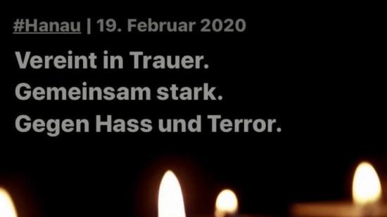 Trauer um Opfer von Hanau
