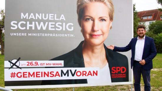 Manuela Schwesig Ministerpraesidentin fuer MV
